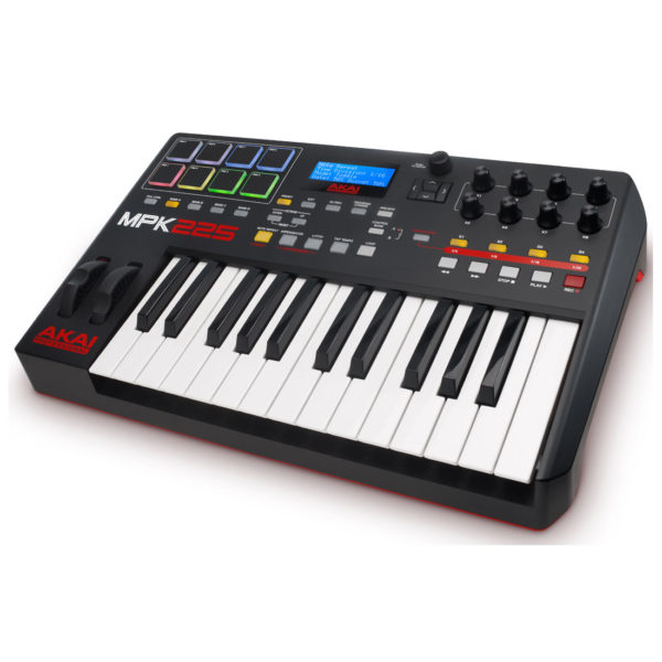 AKAI MPK-225 Midi Keyboard 25 Πλήκτρων