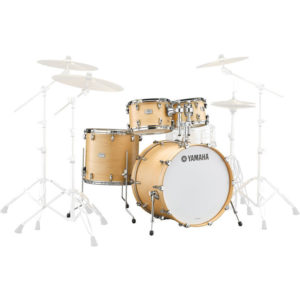 YAMAHA Tour Custom Studio Ακουστικό Drums Set Butterscotch Satin
